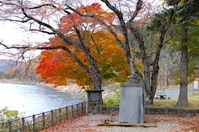 Lake Tazawa Kannon