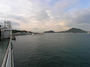 Leaving Shikoku