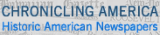 Logo and link to Chronicling America