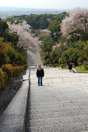 Mausoleum steps