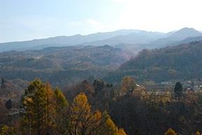 Gassan mountains