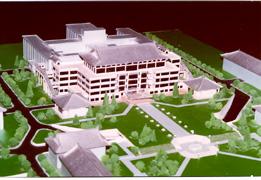 model of Peking University Library