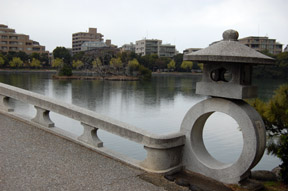 Ohori Park bridge