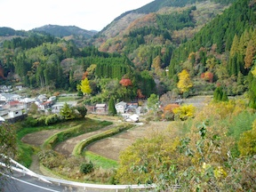Road from Oita