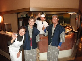 hakkei owner and chef