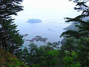 View of coast