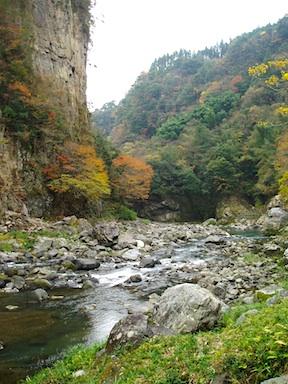 Gokasegawa river