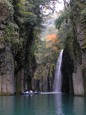 Rowing into the gorge