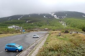 Mt. Chokai mist