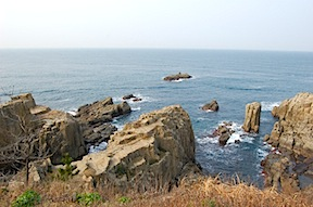 Kaga coast