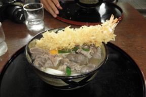 sanuki udon bowl
