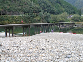 Shimanto bridge