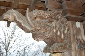 Hokori-no-Miya carving