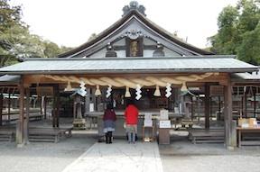 Hetsugu Munakata shrine