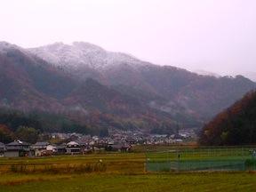 Toyooka snowfall