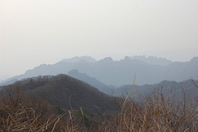 Look-out above Usui Pass