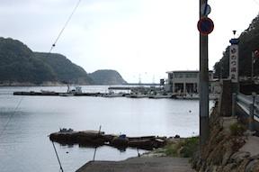 Yunotsu harbor