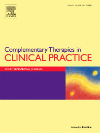 Journal cover: Complementary Therapies in Clinical Practice