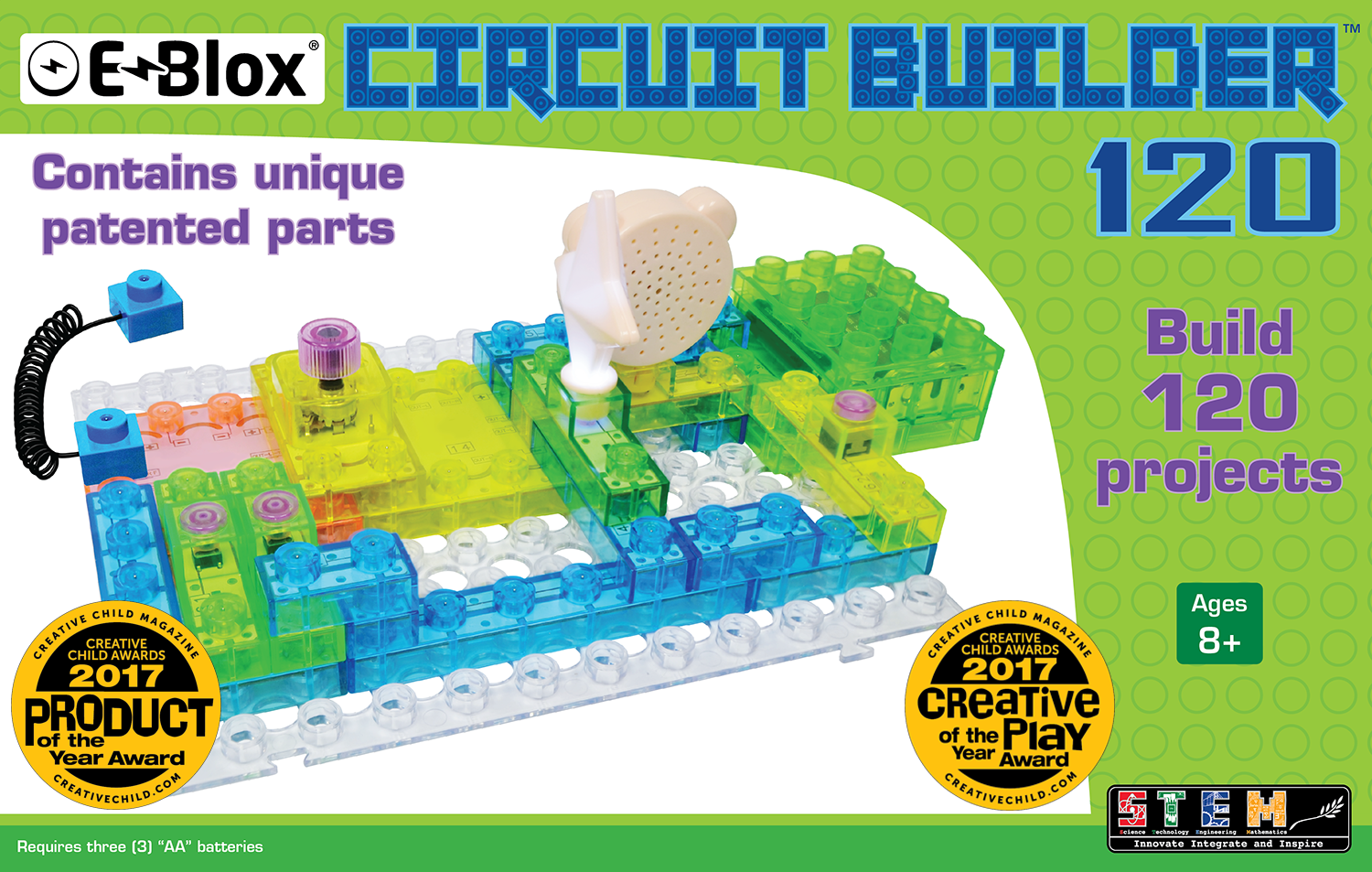 Eblox circuit builder set