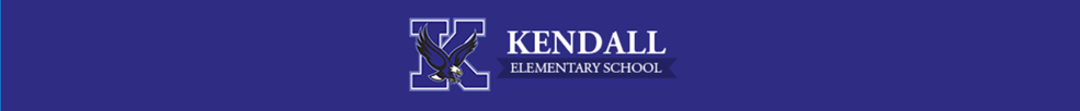 Kendall elementary library banner