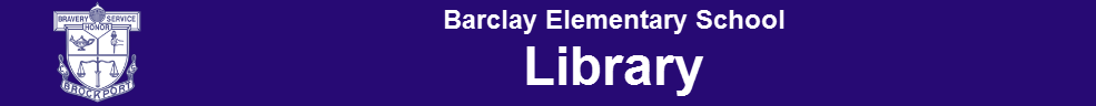 Barclay library banner