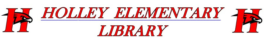 Holley elementary library banner