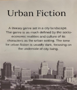 urban fiction genre poster