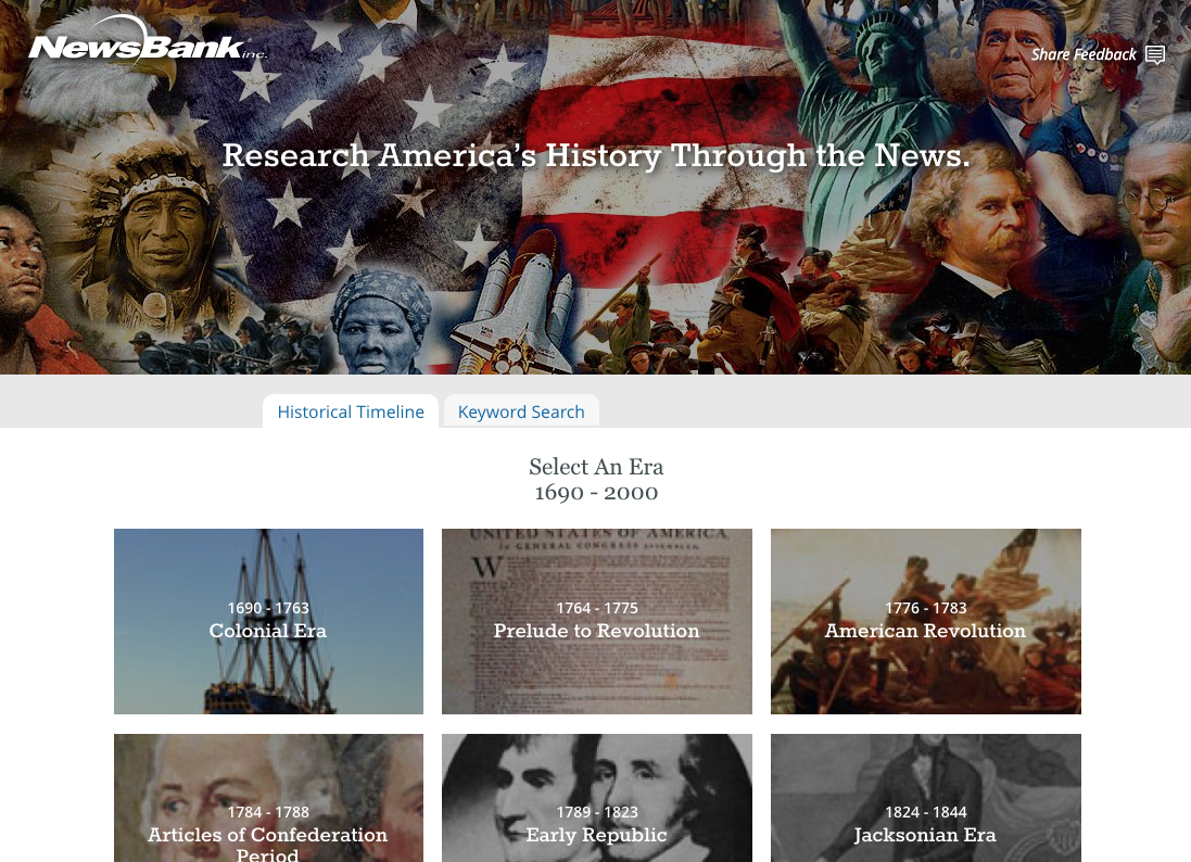 America's Historical Newspapers