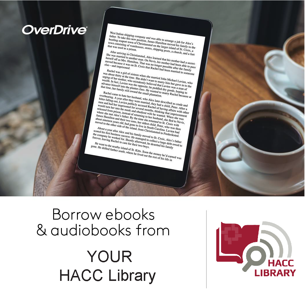 HACC Overdrive Ebook and Audiobook Collection