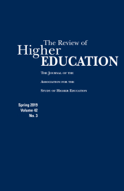 Image of Review of Higher Education