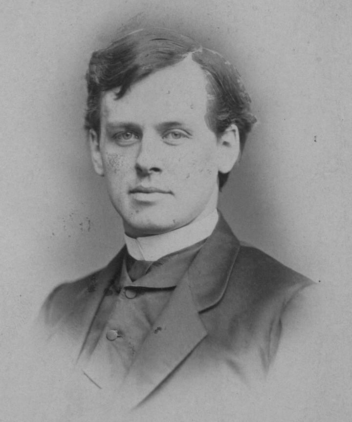 Photo of A.J. Gordon as a young man