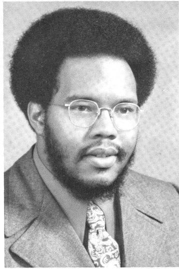 Yearbook photo of Daniel Janey (1972)