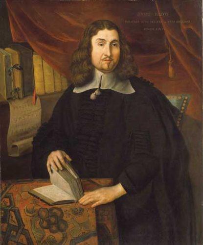 Painting of John Eliot