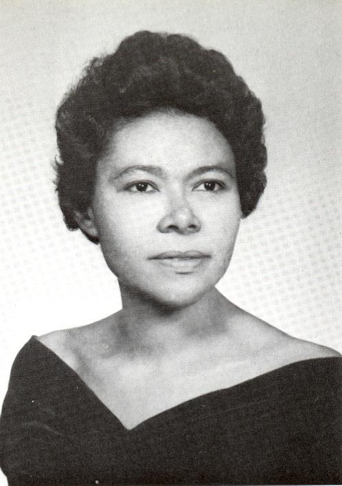 Yearbook photo of Marie Patfoort (1967)