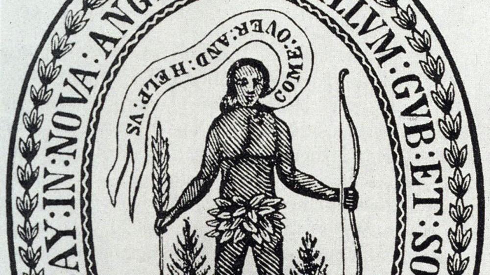 Portion of the Massachusetts' Seal