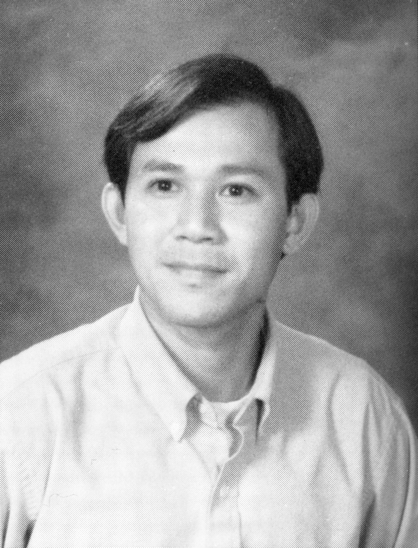 Yearbook photo of Sastra Chim Chan (1994)