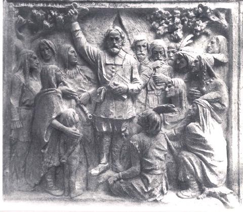 Relief of John Eliot and Natives