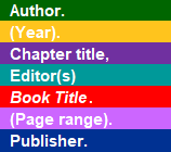 Book section elements