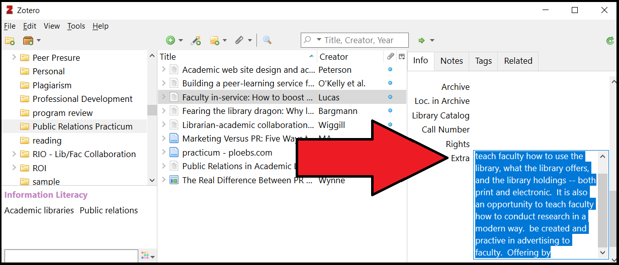 screen shot extra field for annotation