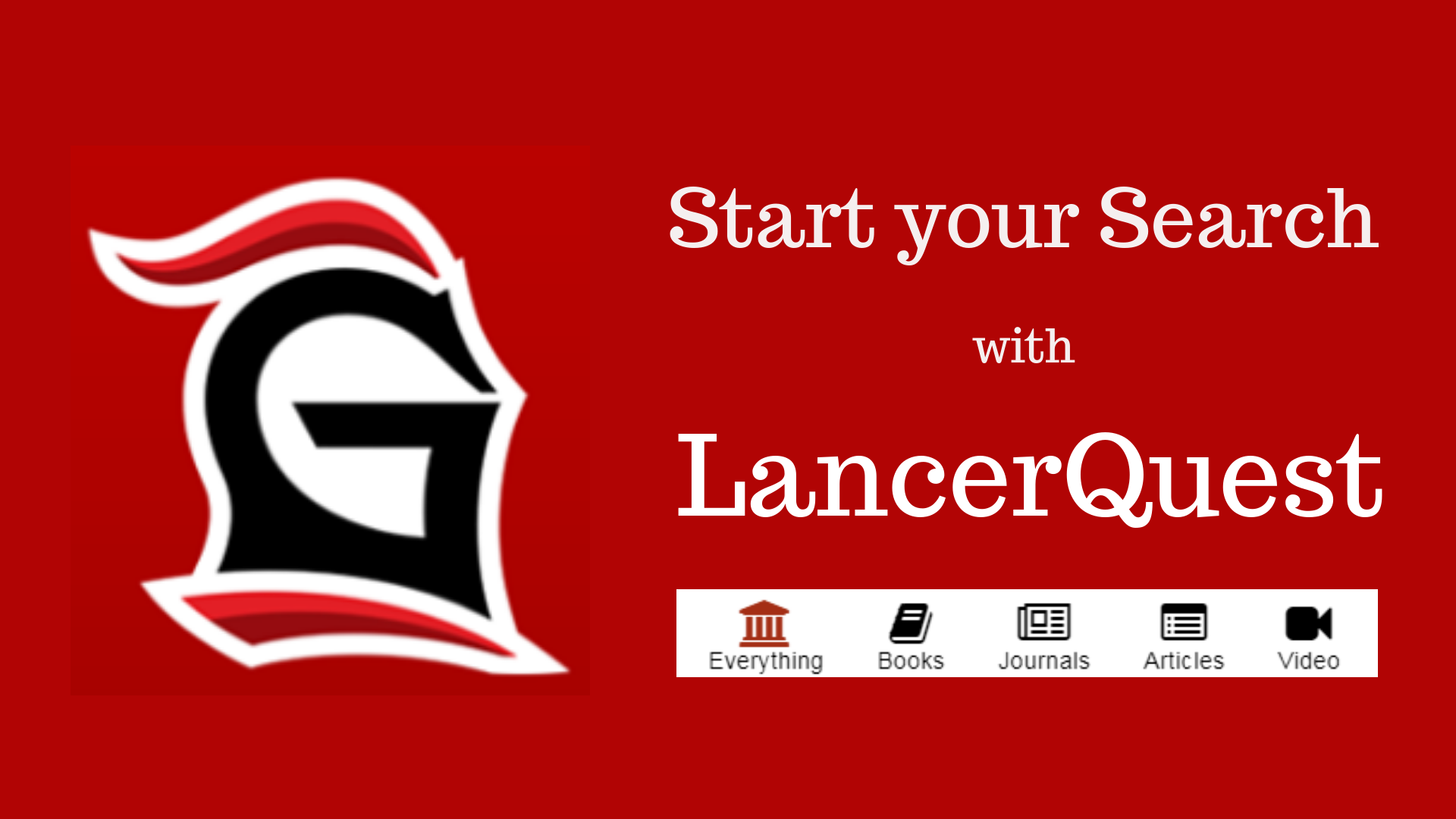 Start search with LancerQuest