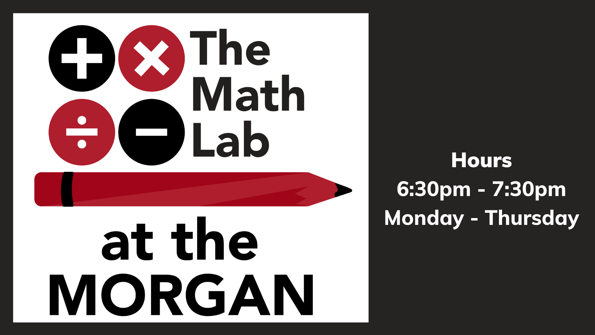 The Math Lab at the Morgan