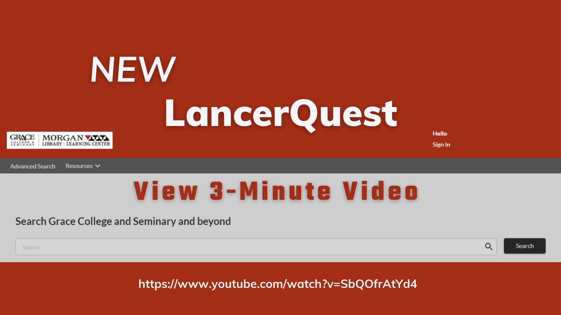 New LancerQuest