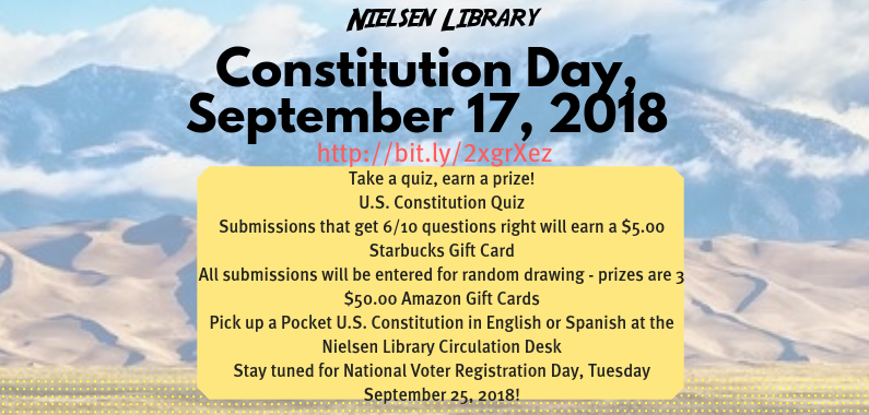 Constitution Day 2018 Information