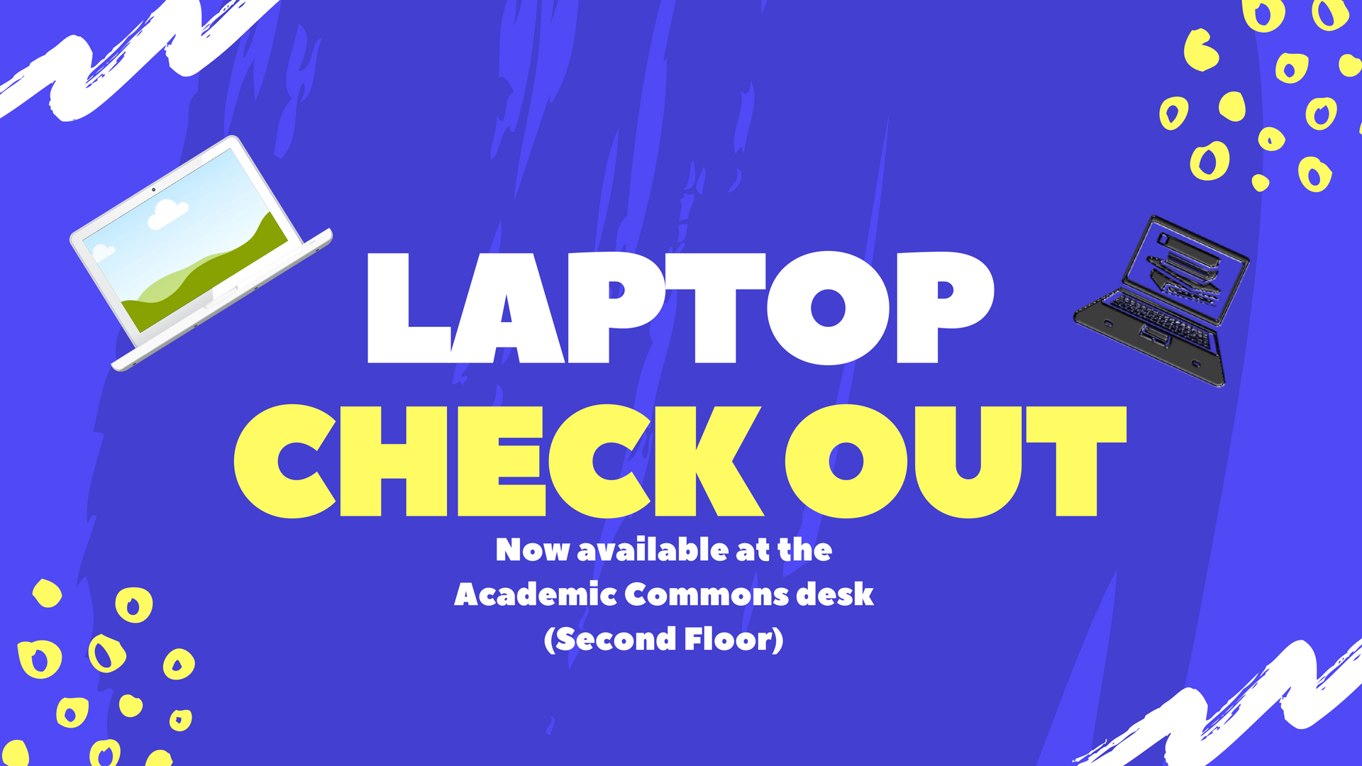 Laptop Checkout Flyer