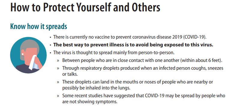 cdc coronavirus how to protect yourself and others
