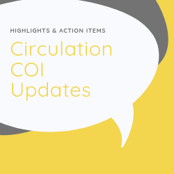 Circulation COI Updates