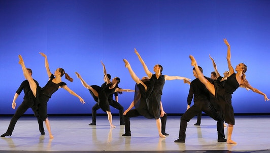 silhouettes ballet performance image preview