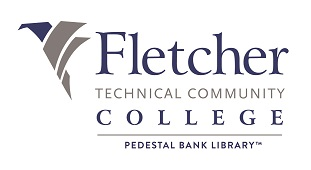fletcher library logo. link to fletcher library homepage