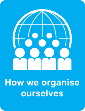 Go to how we organise ourselves