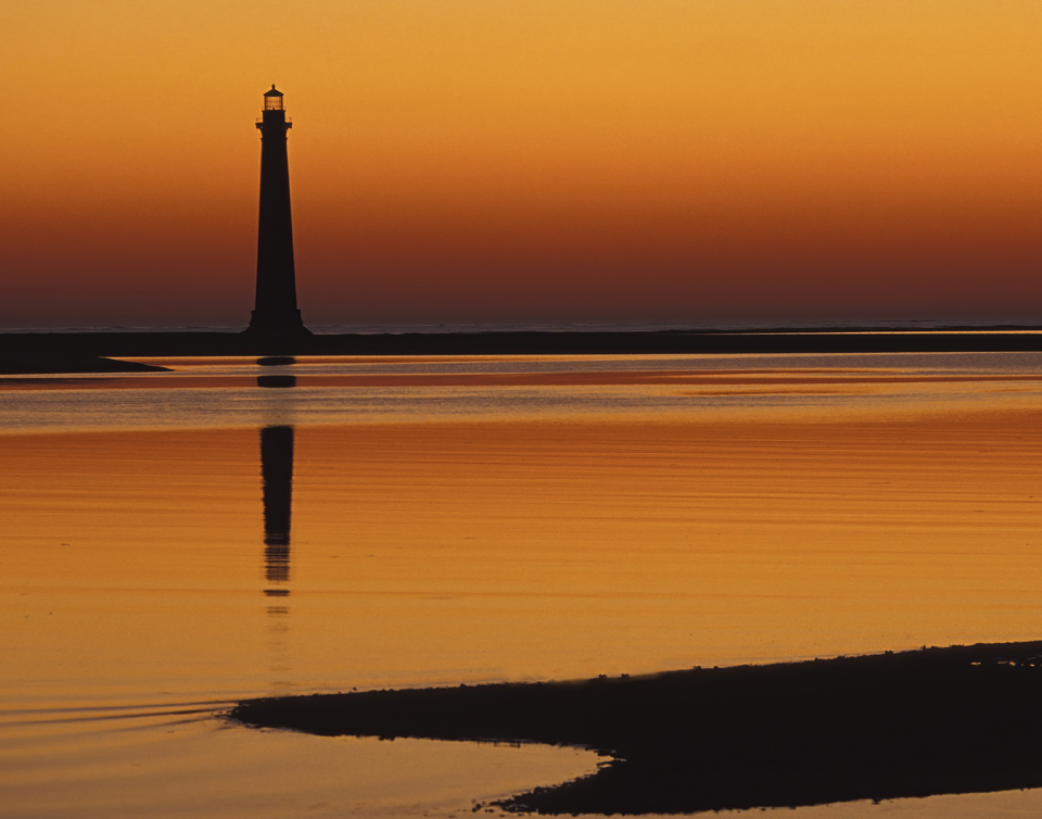 lighthouse and water